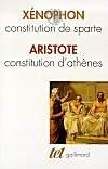 Constitution d'Athènes, constitution de Sparte