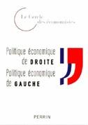 Politique économique de droite, politique économique de gauche