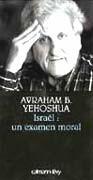 Israël : un examen moral