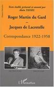 Correspondance 1922-1958