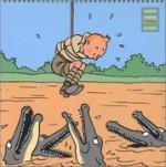 Calendrier 2004 - Tintin