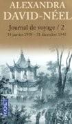 Journal de voyage - tome 2