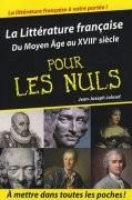 La Littérature française pour les Nuls