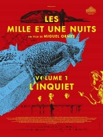 Les Mille Et Une Nuits, volume 1 : l'inquiet - Affiche