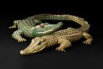 Collier Crocodiles, Cartier Paris, commande de 1975. Au Grand Palais jusqu'au 16 février 2014.