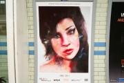 Amy Winehouse dans le métro londonien