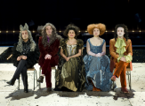 Le Misanthrope à l'Odéon:Alceste à la fête