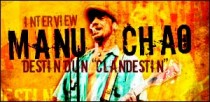 INTERVIEW DE MANU CHAO