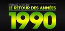LE RETOUR DES ANNEES 1990