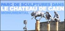 PARC DE SCULPTURES DANS LE CHATEAU DE CAEN