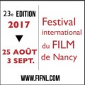 Festival international du film de Nancy 2017
