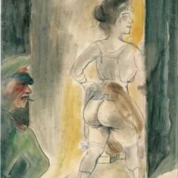 Otto Dix, 'Moi à Bruxelles', 1922