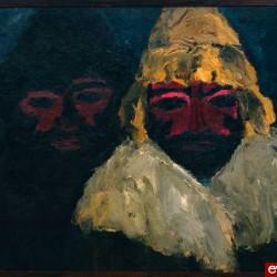 Emil Nolde, Deux Russes II, 1915