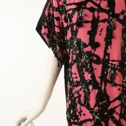 """Robe Haute Couture, 1984, imprimé """"Pollock"""""""