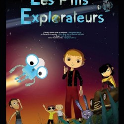 Les P'tits Explorateurs - Affiche