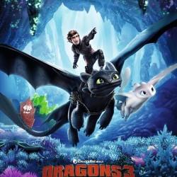 Dragons 3 : le monde caché - Affiche