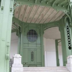 Le Grand Palais et ses volutes Art nouveau
