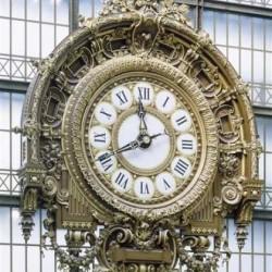 Horloge de l'ancienne gare d'Orsay