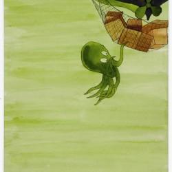 Sans titre [dessin pour Émile], 1958