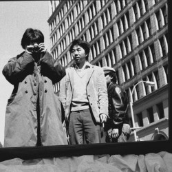 Miroir, 1987. Série Photographies new-yorkaises, 1983-1993