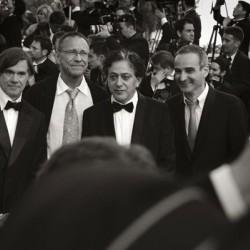 Gus Van Sant (à gauche) - Cannes 2007