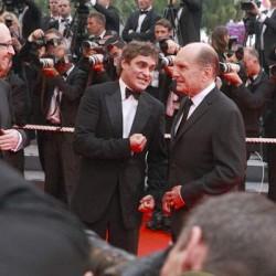 Joaquin Phoenix et Robert Duvall, Cannes 2007