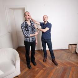 Nosfell et Ludovic Debeurme