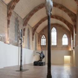Berlinde de Bruyckere, vue de l'exposition aux Jacobins, 2009