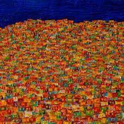 Noite illuminada, 70 x 120 cm Christine Drummond