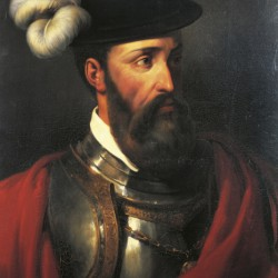 Portrait de Francisco Pizarro (Trujillo, ca 1475 - Lima, 1541)