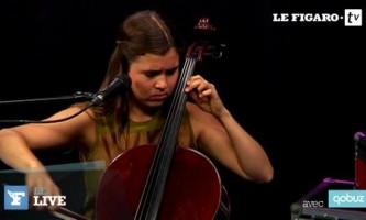 Le Live du Figaro avec Dom La Nena :  «Gracias a la vida»