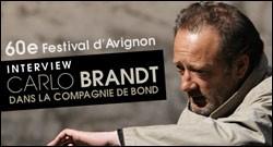 INTERVIEW DE CARLO BRANDT