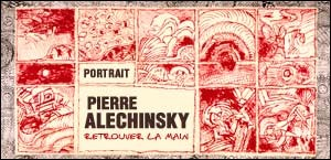 PORTRAIT DE PIERRE ALECHINSKY
