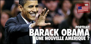 PORTRAIT DE BARACK OBAMA