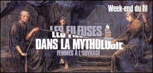 LES FILEUSES DANS LA MYTHOLOGIE