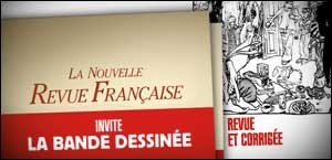 LA NRF INVITE LA BANDE DESSINEE
