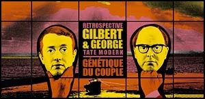 RETROSPECTIVE GILBERT & GEORGE A LA TATE MODERN