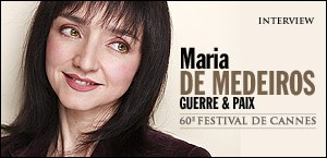 INTERVIEW DE MARIA DE MEDEIROS
