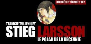 TRILOGIE 'MILLENIUM' DE STIEG LARSSON