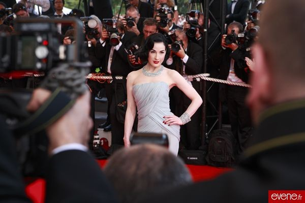 Dita Von Teese, Festival de Cannes 2007