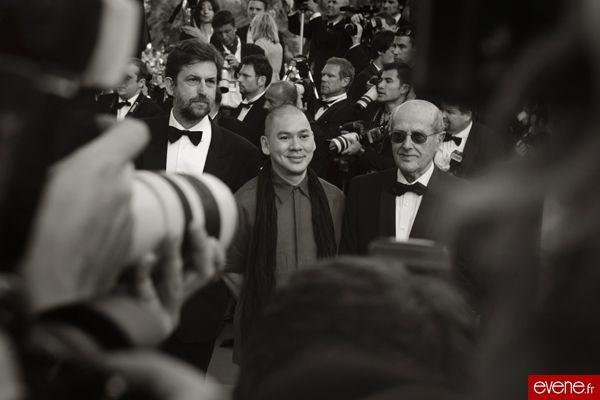 Manoel de Oliveira (à droite) - Cannes 2007