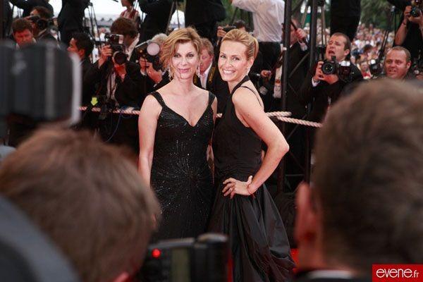 Michèle Laroque et Estelle Lefébure, Cannes 2007
