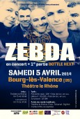 ZEBDA + Bottle Next @ Bourg-lès-Valence