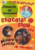 """Chocolat Show - Molière revisité """"Colères et supercheries"""