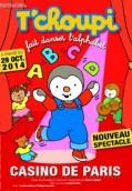 T'Choupi fait danser l'alphabet