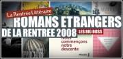LES ROMANS ETRANGERS DE LA RENTREE 2008