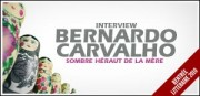 INTERVIEW DE BERNARDO CARVALHO