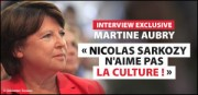 INTERVIEW MARTINE AUBRY
