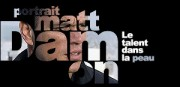 PORTRAIT DE MATT DAMON