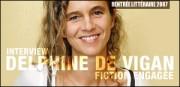 INTERVIEW DE DELPHINE DE VIGAN